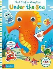 Under the Sea (First Sticker Story Fun), Americo, Tiago, New Book