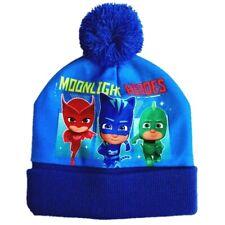 Boys Kids Children Pj Masks Boys Warm Winter Hat Hats Age 3-9 Years