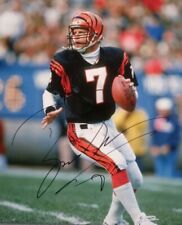 CINCINNATI BENGALS- BOOMER ESIASON AUTOGRAPH 8x10 ACTION PHOTO