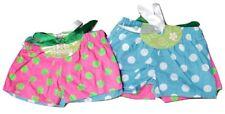 Girls Boxer Shorts 2 Pairs PJ Bottoms Kids Pajama Underwear Toddler Polka Dot 4T