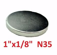 "25 Pack - Neodymium Rare Earth Magnets 1""x1/8"""