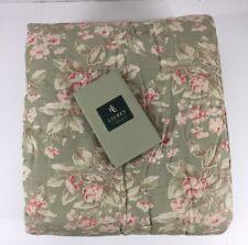 Ralph Lauren Amagansett Layla Standard Pillow Sham Floral Sage Pink Coral