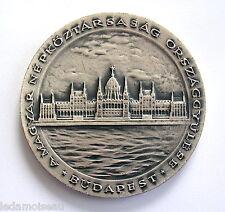 Médaille de table Assemblée nationale HONGRIE, diam: 70 mm, poids: 108 grs.