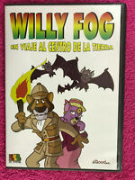 Willy Fog DVD En Voyage Al Centre de La Terre