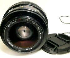 Minolta Maxxum 35-70mm f4 AF Lens constant f4.0 aperture  Sony A mount  Cameras