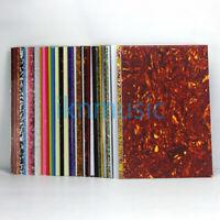 3Ply/4Ply Guitar Bass Pickguard Material Blank Sheet Scratch Plate DIY 430x290mm