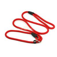Durable Roja Correa Leash Cuerda de Nylon para Adiestramiento Perro Mascotas