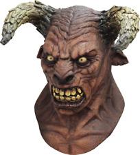 Horned Demon Minotaur Mythology Deluxe Adult Latex Minos Devil Ram Mask