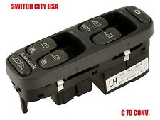 New Volvo V70 S70 C70 Driver Master Power Window Switch 8628966