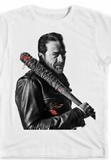 Walking Dead Neegan Tee Shirt With Bat Lucille Gift Fans Zombie Newborn-2X