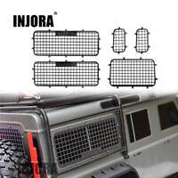 Metal Window Mesh Protective Net for 1/10 RC Crawler Car Traxxas Trx-4 TRX4