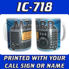 IC718 IC-718 CALL SIGN & RADIO HAM AMATEUR RADIO PERSONALISED