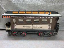 Jim Beam Porcelain Decanter Train set New Jersey Railroad Observation Car