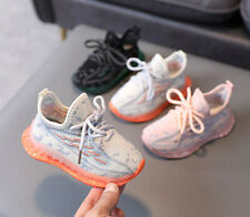 Kids Child Sports Running Shoes Boys Girls Baby Outdoor Casual Walking Sneakers