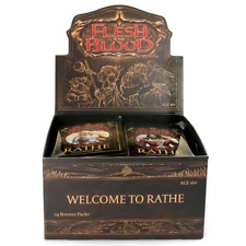 Flesh and Blood TCG Welcome to Rathe Booster Box W/ 24 Booster Packs