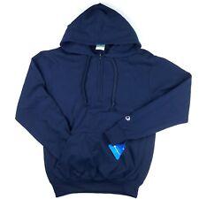 Champion Men's Eco Fleece Half Zip Solid Hoodie Pullover Sweatshirt