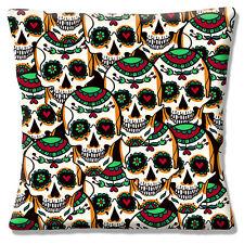 neuen Jahrgang Retro Mexikanischer Zucker Totenschädel Tag der Toten 40.6cm