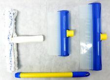 AquaBLADE Set Nr. 1 - Wischer mit Silikonlippe und externem Wasserauffangtank