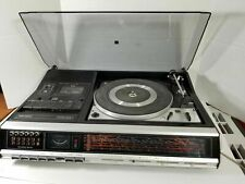 Vintage Grundig Studio 3010 Turntable AM/FM Cassette Player - Parts or Repair