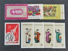 nystamps Viet Nam, DP Stamp # 176//187 Mint H $31