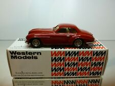 WESTERN MODELS ALFA ROMEO VILLA d'ESTE COUPE - RED 1:43 - VERY GOOD IN BOX