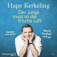 HAPE KERKELING - DER JUNGE MUSS AN DIE FRISCHE LUFT 8 CD NEU