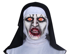 2018 The Nun Valak Mask Cosplay The Conjuring Scary Mask Halloween Horror Props
