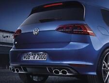 Genuine VW Golf R Mk7 LED Rear Tail Lights Darkened Glass Full Kit & Wiring NEW