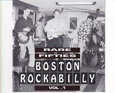 CD RARE FIFTIES BOSTON ROCKABILLY VOL 11994 NEAR MINT (B4807)