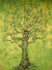 "Traditional Tree of Life Poster 30x40"" inch Cotton wall Hanging Hippie Wall Art"