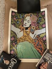 "Chuck Sperry Art Print Poster ""Rhyme"" 2018 Official Silkscreen S/N Only 150!"