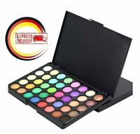 40 Farben Eyeshadow Make-Up Set Glitzer Schminke Shadow Lidschatten Palette