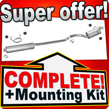 PEUGEOT EXPERT I 1.9 TD 2.0 HDI LWB-Long Exhaust System T76B
