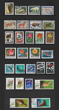 RUSSIA mixed collection No.79, Animals, Flowers, Fish