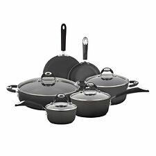 Bialetti 10 Pc Aluminum Cookware Set w/ Silicone Handles New!!