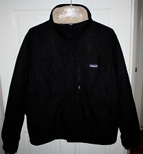 Mens $420 PATAGONIA Black Warm Down Coat Size Large