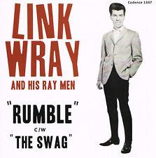LINK WRAY - RUMBLE / SWAG (Original '57 CADENCE label INSTRUMENTALS) Rockabilly
