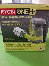P411 Ryobi Random Orbit Sander Cordless  18V One+ 5 In Ergonomic Palm Grip Tool