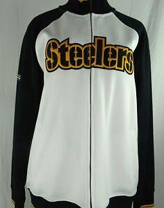 Pittsburgh Steelers NFL Reebok Men's Full Zip Track Jacket