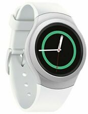 Samsung - Gear S2 Smartwatch 42mm Stainless Steel - WhiteElastomer SM-R720