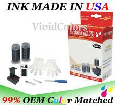 refill kit for Canon PG-243 Dye Black ink cartridges