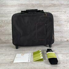Briggs and Riley Verb Roam Rolling Briefcase Laptop Travel Black Bag VBR460 4