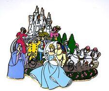 Rare New Jumbo Le Disney Auction Pin✿Cinderella Cast Godmother Tremaine Prince +