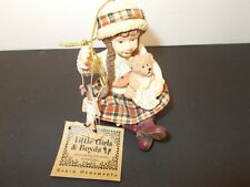 Little Girls & Boyd Ornament, Cassidy W/Buttons , Box & Tag