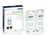 DeLonghi Coffee Machine Descaler Ecodecalk Mini 2Pack x100ml DLSC200 ALL BRANDS