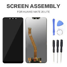 Black for Huawei Mate 20 Lite LCD Display Touch Screen Digitizer Replacement