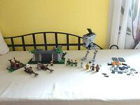 LEGO Spielset aus 8038 Battle of Endor Schlacht auf Endor nicht komplett