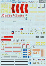 Print Scale 72-218 Decal for AS.332 Super Puma AS.532 Cougar 1:72