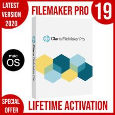 Claris FileMaker Pro 19 FOR MAC | 2020 | Full version | lifetime activation
