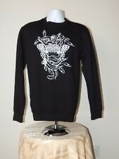 NWT CROOKS & CASTLES MEDUSA GRAPHIC PULLOVER SWEATSHIRT BLACK SMALL